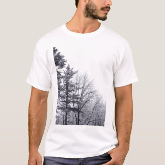 Snow-covered Trees: Vertical T-Shirt
