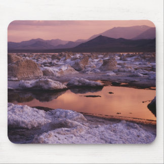 Snow-covered tufas mouse pad