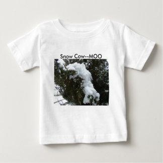 Snow Cow--MOO Baby T-Shirt