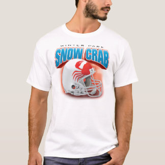 """Snow Crab """"Big Head"""" Tee: Road T-Shirt"""