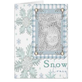SNOW CRAZY CARD