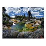 Snow Creek Waterfall Swimming Hole - Yosemite Postcard