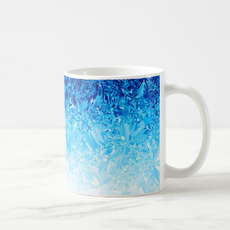 Snow Crystals Coffee Mug