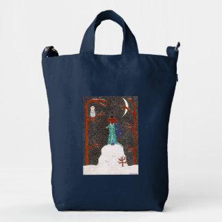 Snow Dachshund Duck Bag
