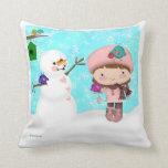 Snow Day American MoJo Pillow