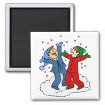 Snow Day! Fridge Magnets