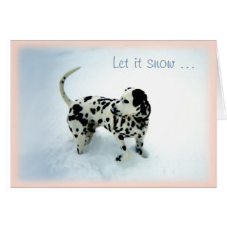 """""""Snow Day"""" ~ Holiday Greeting Card"""