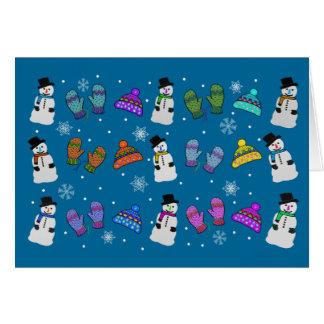 Snow Day Holidays Card