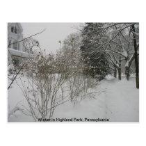 Snow Day Postcard