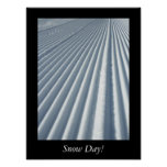 Snow Day Poster Print