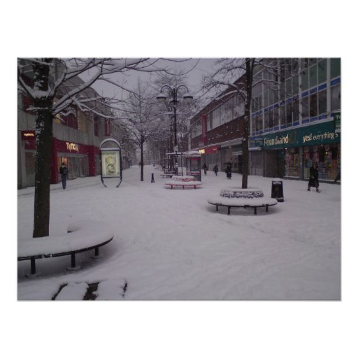 Snow Day Print