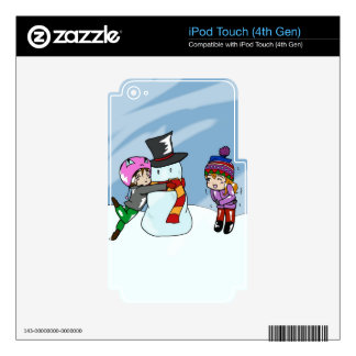 Snow Day! iPod Touch 4G Skin