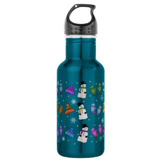 Snow Day Stainless Steel Water Bottle