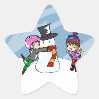 Snow Day! Star Sticker