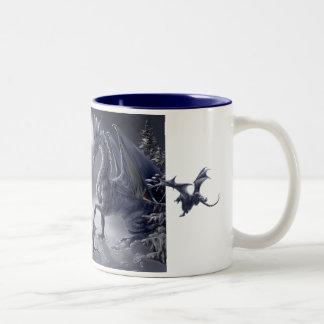Snow Day Two-Tone Coffee Mug