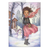 Snow Day - Winter Greeting Card