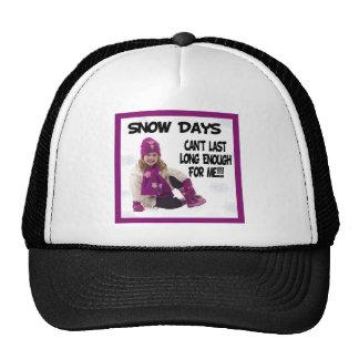 Snow Days Cap Trucker Hat