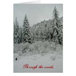 snow deep card