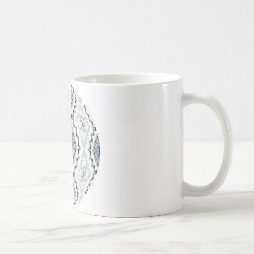 Snow Diamonds Coffee Mugs