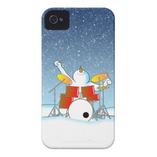 Snow Din iPhone 4 Case