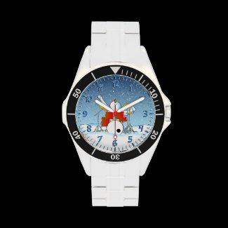Snow Din Wristwatch