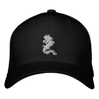 Snow dragon baseball cap