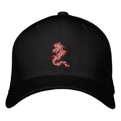 Snow dragon cap