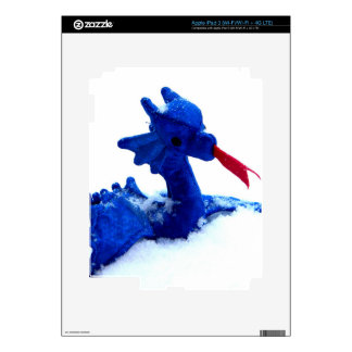 Snow Dragon Decal For iPad 3