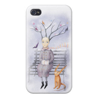 Snow Dreaming iPhone 4 Case