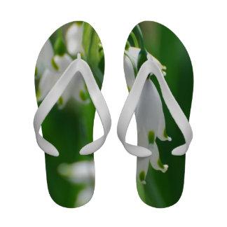 Snow Drop Lily Sandals