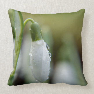 Snow Drop Throw Pillows