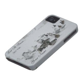 Snow Ducks-Winter Wonderland iPhone 4 case