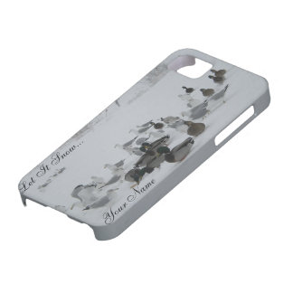 Snow Ducks-Winter Wonderland iPhone 5 case