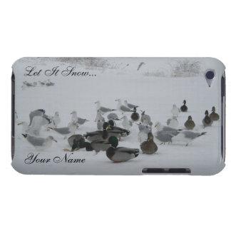 Snow Ducks-Winter Wonderland iPod Touch Case