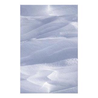 snow_dunes custom stationery