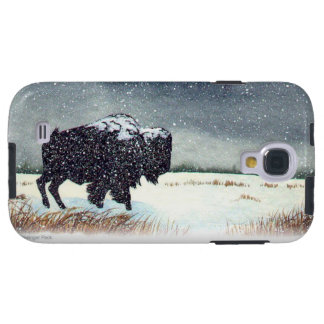 Snow Dusted Bison Galaxy S4 Case