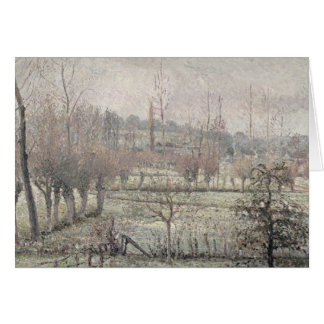 Snow Effect at Eragny, 1894 Card