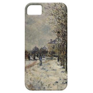 Snow Effect, The Boulevard de Pontoise at Argenteu iPhone SE/5/5s Case