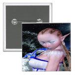 Snow Elf # 2 Pinback Buttons