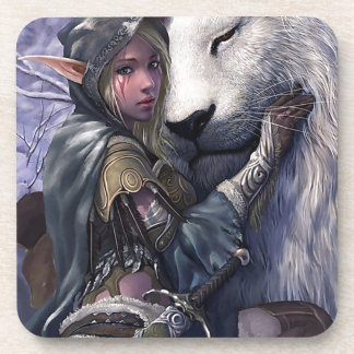 Snow+Elf+Girl+with+Lion Coaster