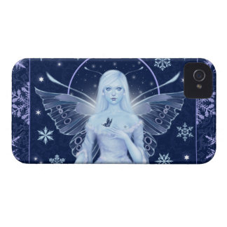 Snow Fairy with Snowflakes iPhone 4/4S Case