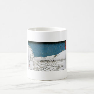 Snow Falling on a Town, Japan circa 1851-52 Coffee Mug