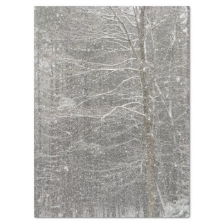 Snow Falling Tissue Paper