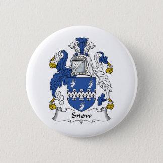 Snow Family Crest Button