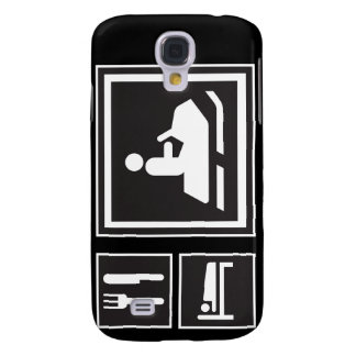 Snow Fanatic - Eat, sleep, go snowmobiling! Galaxy S4 Cover