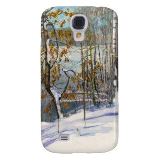 Snow fell galaxy s4 case