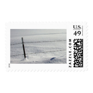 snow fence_04 postage stamps