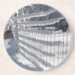 Snow Fence ~ coaster