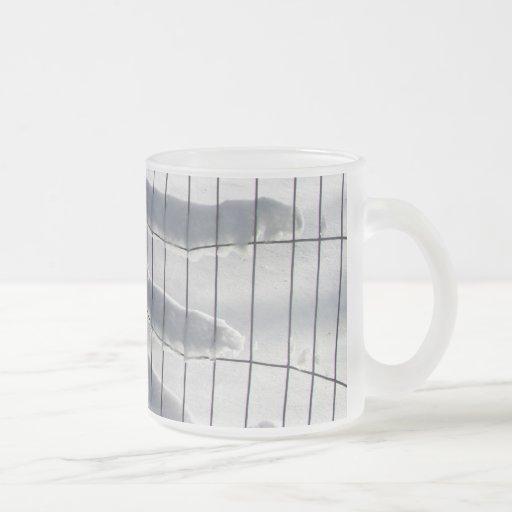 Snow Fence ~ mug