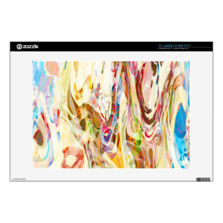 "Snow Fight Vintage Abstract 13"" Laptop Skin"